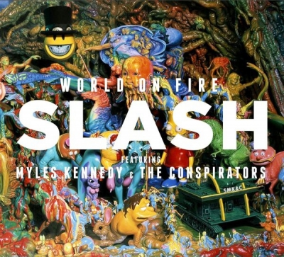Slash Featuring Myles Kennedy And The Conspirators ‎– World On Fire (2xLP)