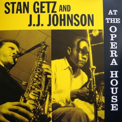 Stan Getz And J.J. Johnson ‎– At The Opera House