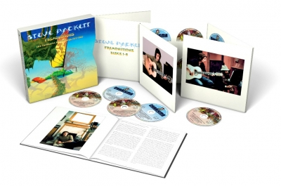 Steve Hackett ‎– Premonitions: The Charisma Recordings 1975 – 1983 (10xCD+4xDVD) (Boxset Deluxe Edition)