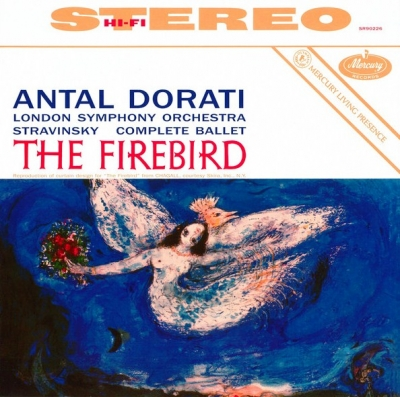 Igor Stravinsky / The London Symphony Orchestra / Antal Dorati ‎– The Firebird