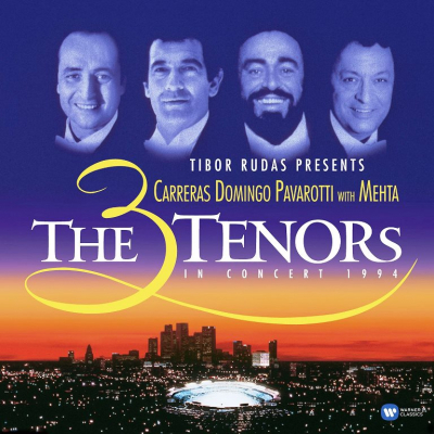 Carreras - Domingo - Pavarotti with Mehta – The 3 Tenors In Concert 1994