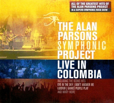 The Alan Parsons Symphonic Project ‎– Live In Colombia (2xCD)