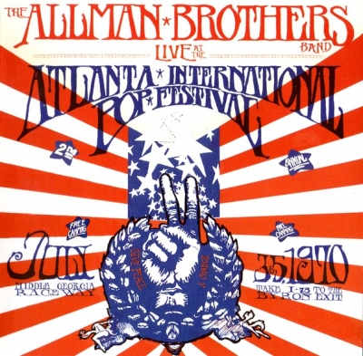 The Allman Brothers Band ‎– Live At The Atlanta International Pop Festival July 3 & 5, 1970 (2xCD)