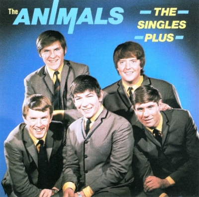 The Animals ‎– The Singles Plus