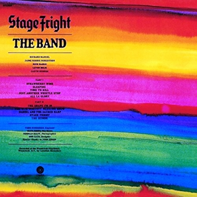 The Band ‎– Stage Fright