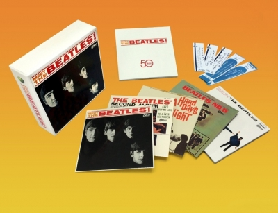 The Beatles ‎– Meet The Beatles! (Japan Box) (5xCD)