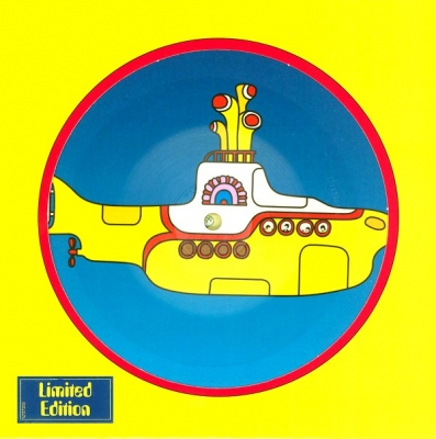 The Beatles ‎– Yellow Submarine b/w Eleanor Rigby ( Vinyl, 7
