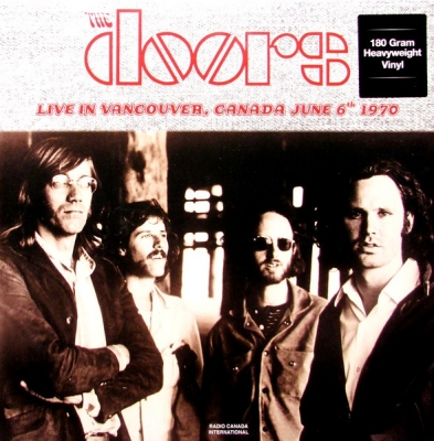 The Doors ‎– Live In Vancouver, Canada June 6th 1970 (2xLP)