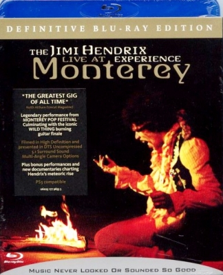 The Jimi Hendrix Experience ‎– Live At Monterey