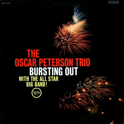The Oscar Peterson Trio ‎– Bursting Out With The All-Star Big Band