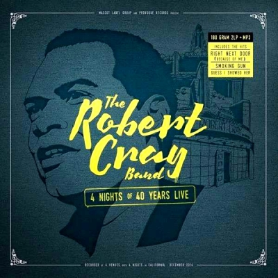 The Robert Cray Band ‎– 4 Nights Of 40 Years Live (2xLP)