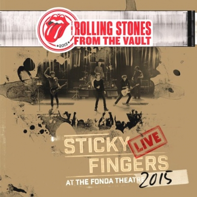 The Rolling Stones ‎– Sticky Fingers Live At The Fonda Theatre (3xLP, DVD)
