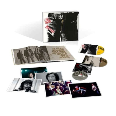 The Rolling Stones ‎– Sticky Fingers (2xCD+DVD) (Boxset Deluxe Edition)