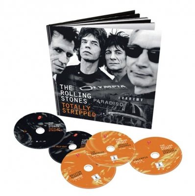 The Rolling Stones ‎– Totally Stripped (Deluxe Limited Edition) (CD, 4xBlu-Ray)