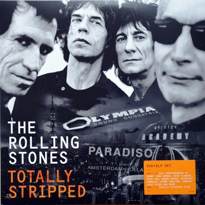 The Rolling Stones ‎– Totally Stripped (2xLP+DVD)