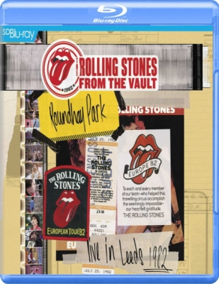 The Rolling Stones ‎– Live At Leeds Roundhay Park 1982