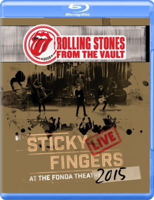 The Rolling Stones ‎– Sticky Fingers Live At The Fonda Theatre