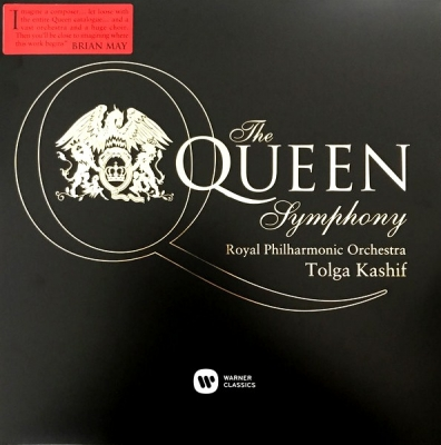 The Royal Philharmonic Orchestra, Tolga Kashif ‎– The Queen Symphony (2xLP)