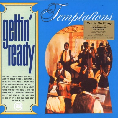 The Temptations ‎– Gettin' Ready