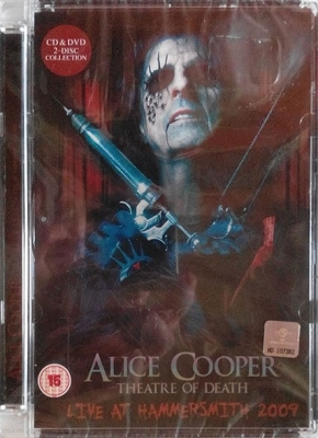 Alice Cooper – Theatre Of Death - Live At Hammersmith 2009 (DVD+CD)