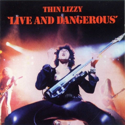 Thin Lizzy ‎– Live And Dangerous (2xLP)