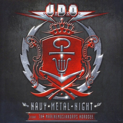 U.D.O. Feat. The Marinemusikkorps Nordsee ‎– Navy Metal Night (2xLP) (Синий Винил)