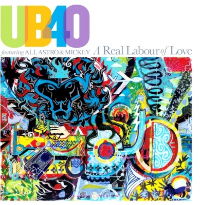 UB40 Featuring Ali, Astro & Mickey ‎– A Real Labour Of Love (2xLP)
