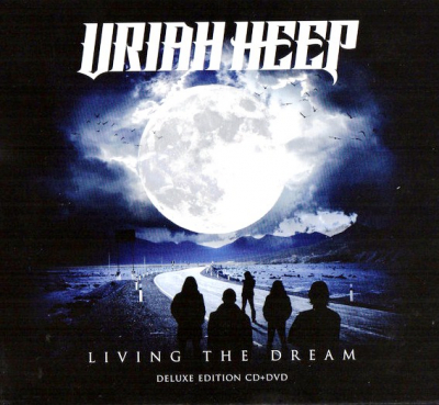 Uriah Heep ‎– Living The Dream (CD+DVD, Deluxe Edition, Digipak)