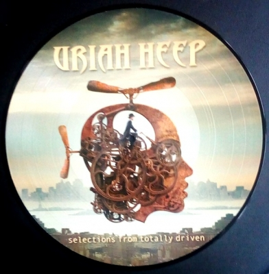 Uriah Heep ‎– Selections From Totally Driven (Picture Disc)