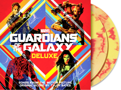Various ‎– Guardians of The Galaxy Deluxe Vinyl Edition (2xLP, Цветная Пластинка)
