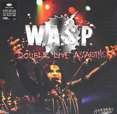 W.A.S.P. ‎– Double Live Assassins (2xLP)