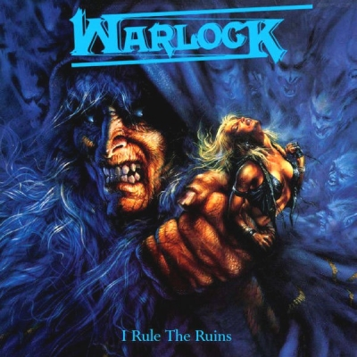 Warlock ‎– I Rule The Ruins (4xCD Box Set, Compilation)