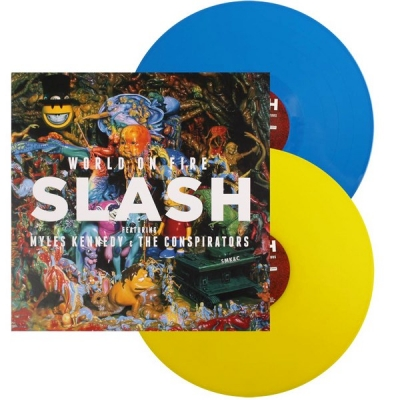 Slash Featuring Myles Kennedy And The Conspirators ‎– World On Fire (2xLP, Special Edition)