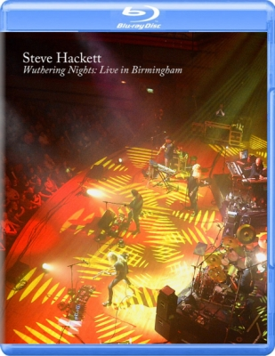 Steve Hackett ‎– Wuthering Nights: Live In Birmingham