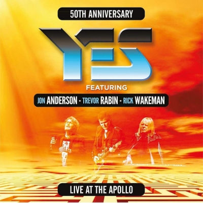 Yes ‎– 50th Anniversary Yes Featuring Anderson, Rabin, Wakeman Live At The Apollo (3xLP)