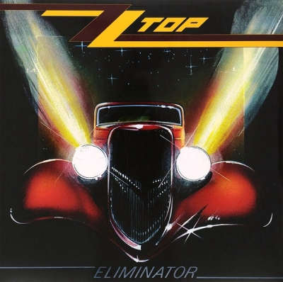 ZZ Top ‎– Eliminator (Limited Edition, Red)
